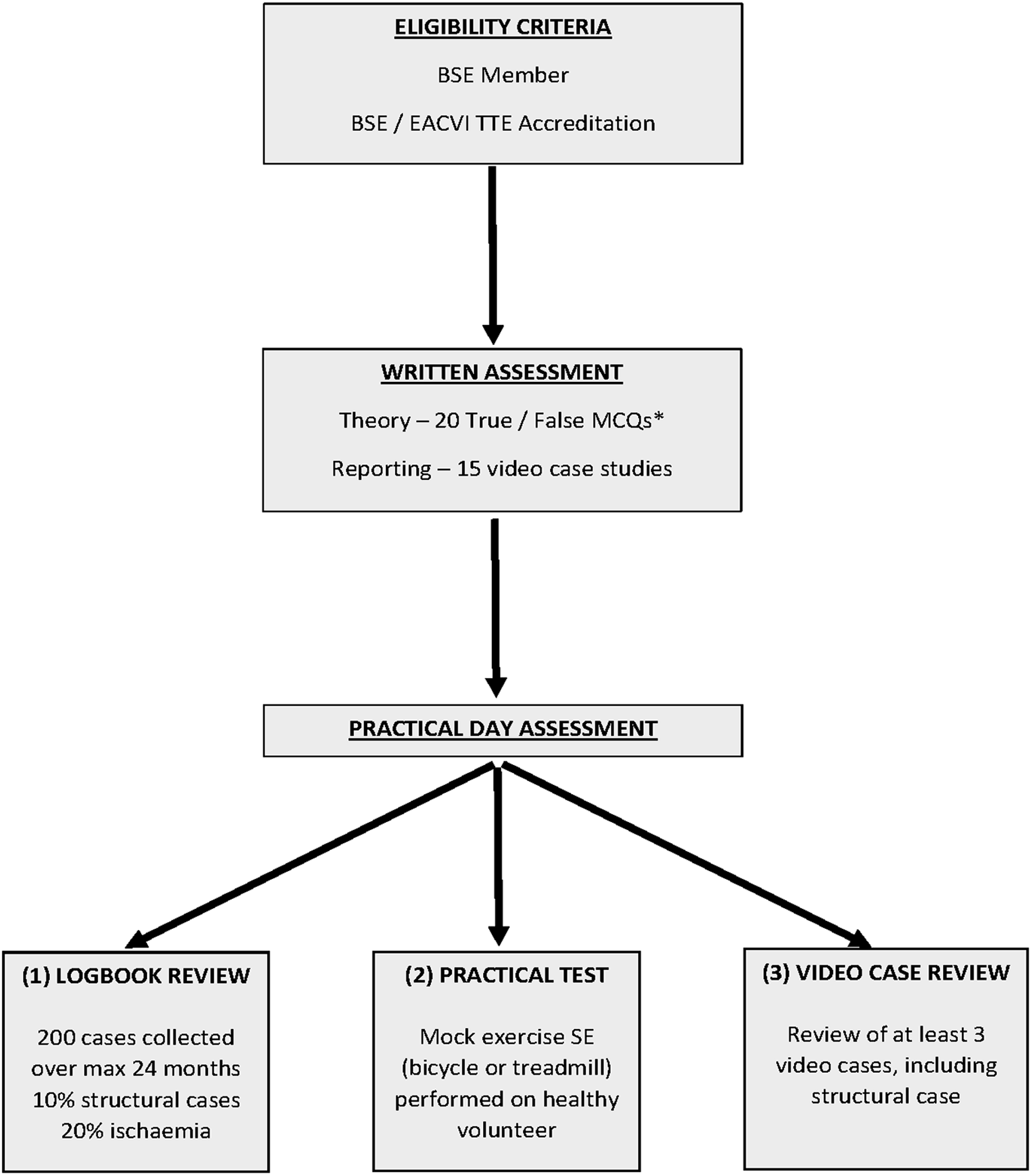 Stress Echocardiography In Contemporary Clinical Cardiology Process Flow Diagram Exercise Download Figure 1 Chart Illustrating The Accreditation